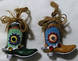 Cowboy Boot Christmas Ornament - $9.99