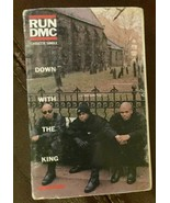 Run DMC Down With The King Cassette Tape - $1.99