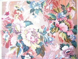 GLORYFILIA FLORAL LARGE NEEDLEPOINT CANVAS GL # 5031 ONLY. YOU COMPLETE IT! - $46.39