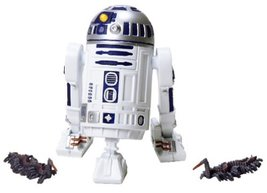Star Wars Attack of the Clones Coruscant Sentry R2-D2  - $16.99