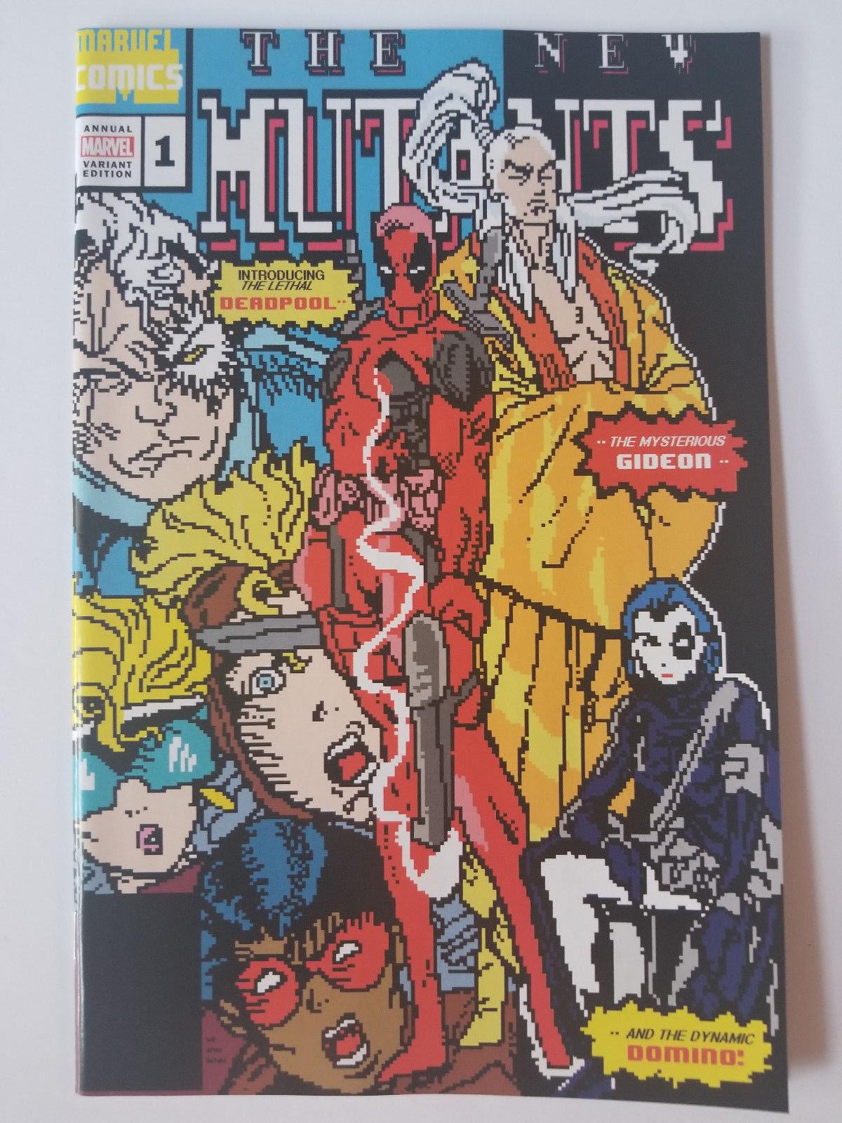 New Mutants #4 NM Stock Image
