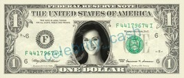 CATHERINE BELL Sarah MacKenzie JAG on REAL Dollar Bill Cash Money Bank Note - $4.44