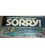 Sorry! - Parker Brothers Slide Pursuit Board Game - $11.75