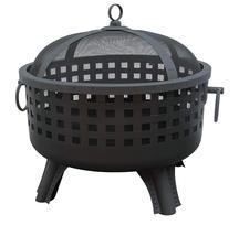 Savannah Garden Light Fire Pit, Black - $103.95