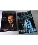 Bill O'Reilly No Spin Zone Those Who Trespass Novel Lot Book Paperback - $13.85