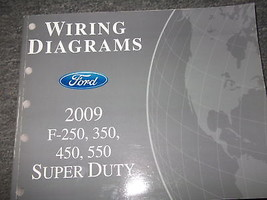 2009 FORD TRUCK F-250 350 450 550 Electrical Wiring Diagram Service Manu... - $98.99