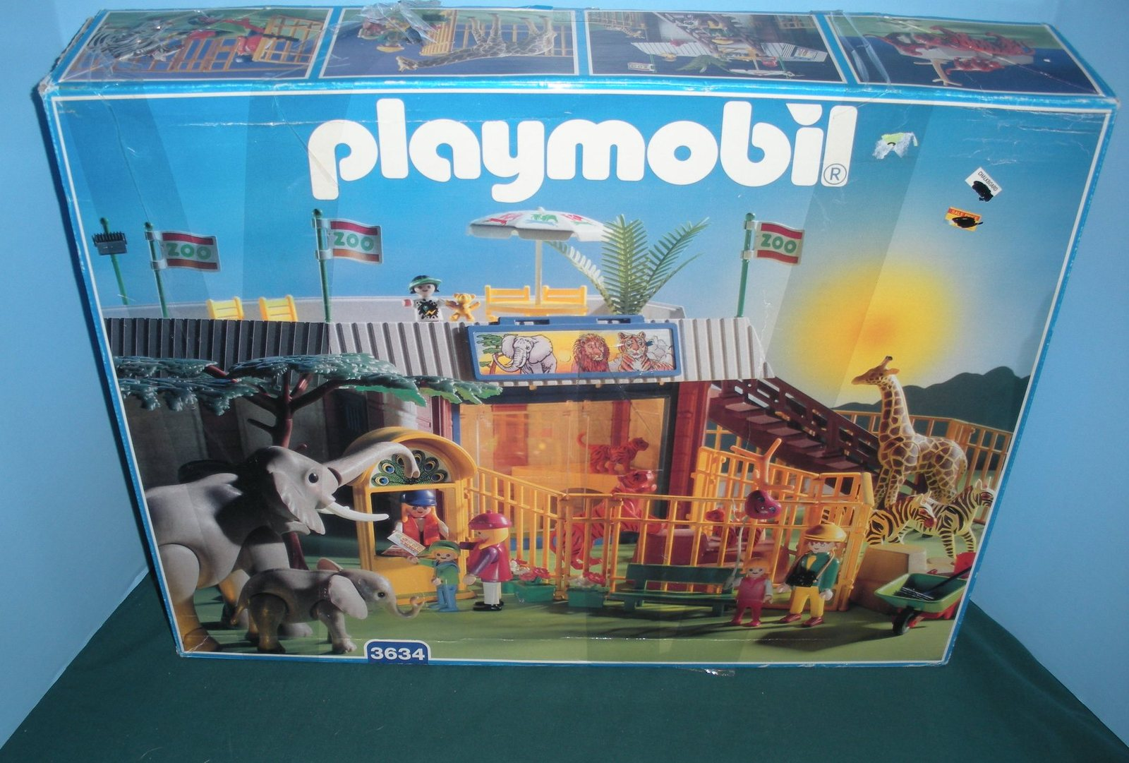 Vtg Playmobil 3634 Animal Shelter Zoo And 24 Similar Items