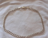 Silver chain anklet 3 thumb155 crop