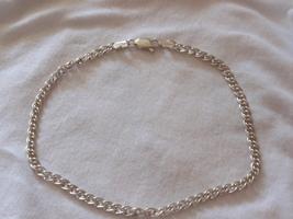 Silver anklet - $20.00