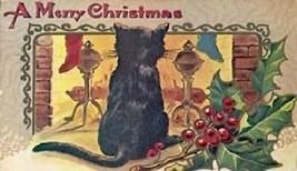 Christmas Cat Magnet #31 - $7.99