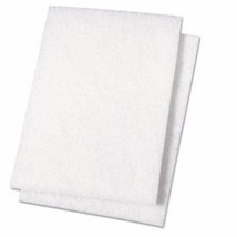 v1rtus 2 x White Paint Buffing Pads - for use with Hemway Glitter Paint Additive