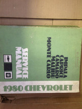 1980 Chevy IMPALA CAPRICE CAMARO MALIBU MONTE CARLO Service Shop Repair ... - $39.60