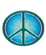 Batik Peace Sign Outside Window Sticker  Deadhead Hippie   Car Decal - $4.49