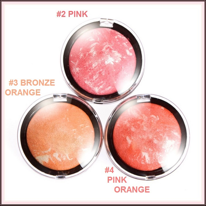 Shimmer Pro Blusher Mineral Pressed Powder Three Skin Lucent Color Shade Choices