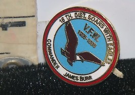 Vintage VFW Lapel Pin 16th District IL. Soars With Eagles 1995-1996 Jame... - $8.91
