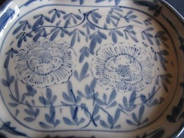 Antique Vintage decor plate handpainted flower ... - $38.00
