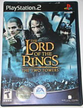 Playstation 2   The Lord Of The Rings The Two Towers (Game And Manual) - $12.00