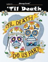 Til Death L311 halloween cross stitch chart Stoney Creek - $7.20