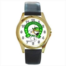 SNOOPY ST. PATRICK'S DAY GOLD OR SILVER TONE WATCH  6 STYLES - $25.99