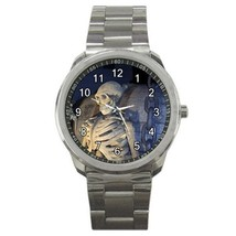 HALLOWEEN SKELETON SPORTS WATCH 3 OTHER STYLES - GOLD & SILVER-TONE, CHA... - $25.99