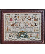 All Creatures Great And Small sampler cross stitch chart Barbara Ana Des... - $18.00