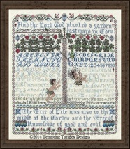 Before The Fall cross stitch chart Tempting Tangles - $16.20