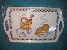 Garfield & Odie melamine tray. Brand New. 11.5 x 19 inch. Licensed Product. - $49.49