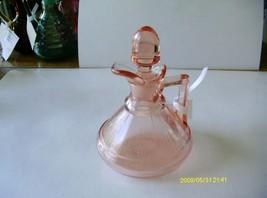 Heisey Pink Pleat & Panel Cruet - $34.65