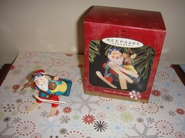 Hallmark 1997 Santa's Ski Adventure Ornament - $10.49