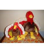 Ty Beanie Buddy And Beanie Baby Gobbles The Turkey - $19.99