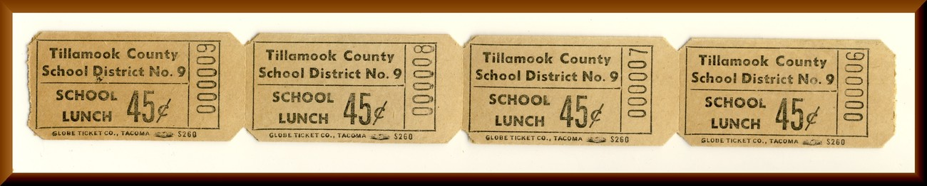 4 lunch tickets