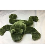 Folkmanis Frog Hand Puppet Plush Toy Retired Classroom Storytime Folk Tails - $13.09