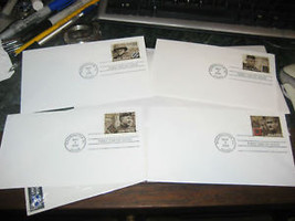 DISTINGUISHED SOLDIERS FDC SET USPS MAY 3 2000 - $7.70