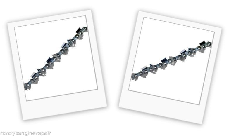 """10 Pack NEW Oregon 20LPX072G Chainsaw Chain 18/"""" .325 .050 72 Drive Links"""