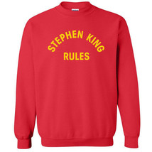 013 Stephen King Rules Crew Sweatshirt funny halloween scary squad costu... - $20.00+
