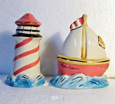 Bluesky Twilight Cove Lighthouse & Ship Salt & ... - $9.95