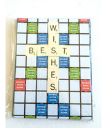 3.75'' x 5'' Best Wishes Scrabble Set of 8 Note... - $3.88