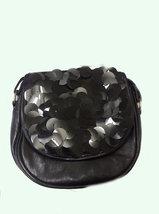 bag Classical ladies black handbag / shoulder bag, features circles design image 2