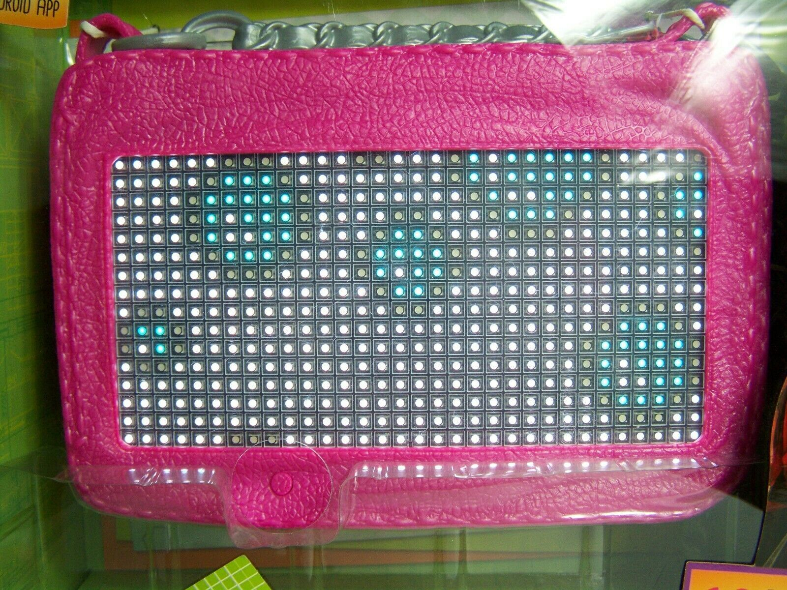 Project Mc2 Smart Pixel Purse Led Light iOS Android App Girls Handbag New