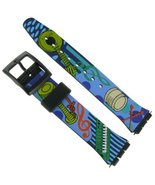 17mm Musical Instruments Design Watch Band for Swatch- FREE SPRING BARS ... - $12.60