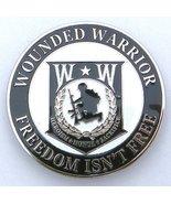 """Wounded Warrior Car/Truck Grille Badge Emblem (3"""") - $14.84"""