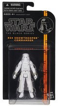 Star Wars The Black Series Snowtrooper Commander #24 Figure 3.75 in - $12.95