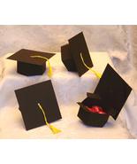 12 Graduation Hat Party Favor Boxes Favors Box Graduate - $12.99