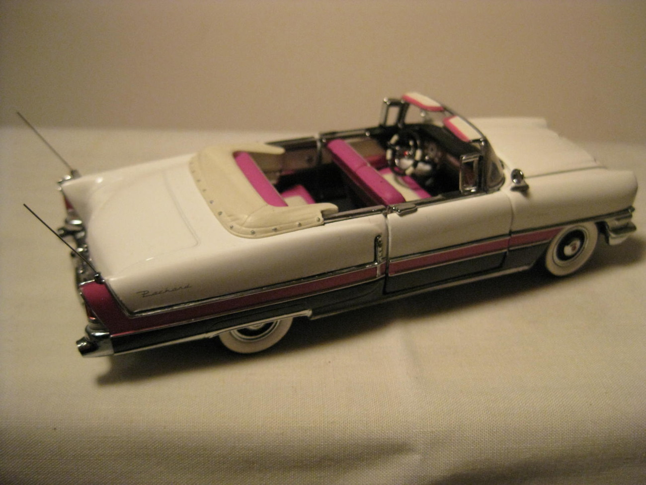 Primary image for 1955 Packard Caribbean Diecast Car by Franklin Mint