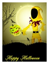 Happy Halloween Background2-Digital clipart.  - $4.00