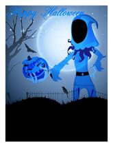 Happy Halloween Background7-Digital clipart.  - $3.85