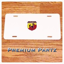 Abarth Fiat Scorpion License Plate 3D New Alumi... - $39.99