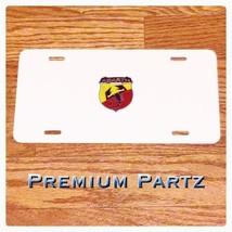 Abarth Fiat Scorpion License Plate 3D New Alumi... - $39.99