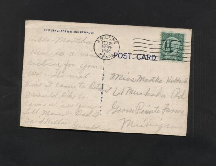Vintage Postcard Linen 1940s Picking Cotton Old South Black Memorabilia