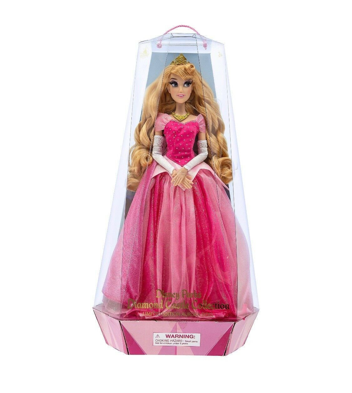 Disney Parks Sleeping Beauty 60th Aurora Limited Doll New with Box